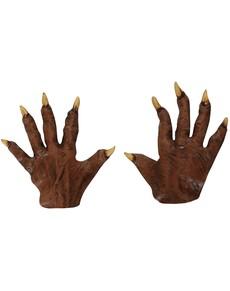 Mains de loup garou pointues