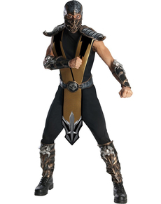 Costume Scorpion Mortal Kombat haut de gamme