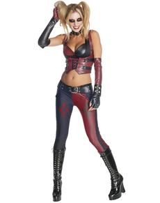 Costume de Harley Quinn pour femme Arkham City