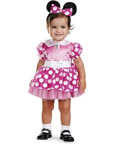 Costume de Minnie Mouse Clubhouse rose pour bébé