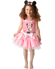 Costume de Minnie Mouse Ballerine Rose pour fille