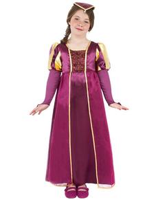 Déguisement de femme Tudor pour fille