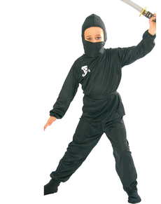 Costume de ninja noir pour garçon
