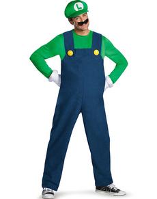 Costume de Luigi prestige pour adulte