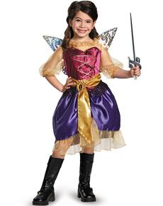 Costume de Zarina, Clochette et la fée pirate pour fille