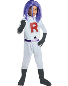 Costume James Team Rocket garçon