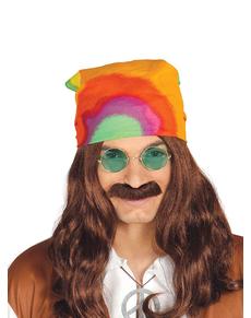 Foulard hippie multi couleur