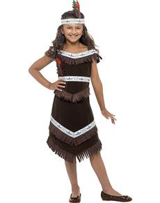Costume indien apache pour fille