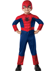 Costume Ultimate Spiderman deluxe enfant