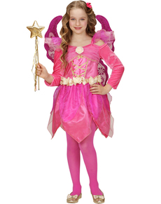 Costume fée rose fille