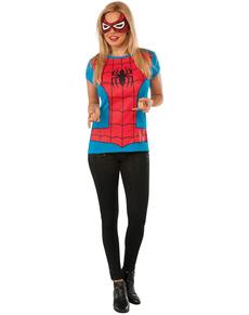 Kit Costume Spidergirl Classic Marvel femme