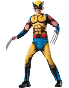 Costume Wolverine Marvel deluxe garçon