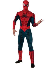 Costume Spiderman Marvel deluxe adulte