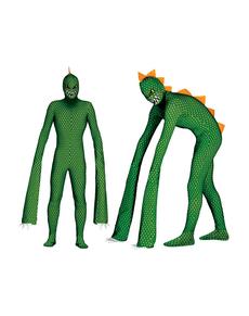 Déguisement reptile mutant homme