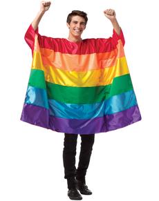 Déguisement drapeau Gay Pride homme