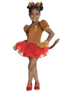 Costume Lion Poltron  Le Magicien d'Oz  fille