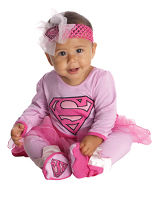 Costume Supergirl DC Super Friends bébé