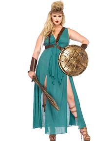 Déguisement guerrière antique femme grande taille