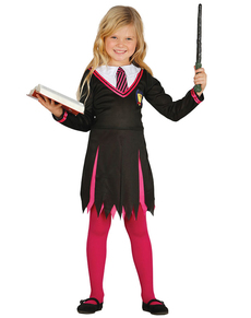 Déguisement étudiante en magie fille