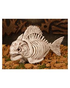 Décoration squelette piranha
