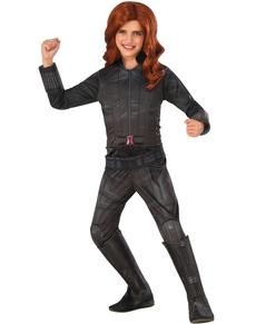 Costume Veuve Noire Captain America Civil War deluxe fille
