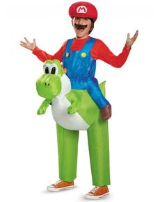 Déguisement Mario Bros ride on Yoshi enfant