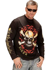 T-shirt motard homme grande taille