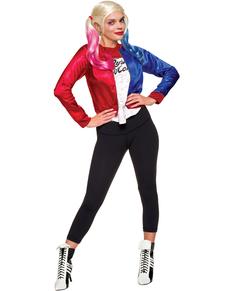 Kit de déguisement Harley Quinn Suicide Squad pour femme