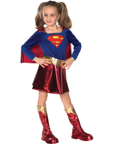 Costume de Supergirl fille haut de gamme